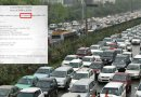 Did Rajya Sabha pass a Motor Vehicle Act on 11th March with much higher fines ?