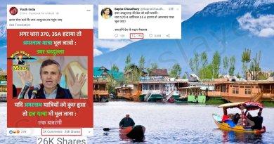 Did Omar Abdullah threaten to end Amarnath Yatra ?