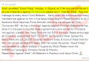 No! The Gujarat Government has NOT cancelled Good Friday Holiday.