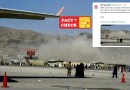 Prominent News houses used an old photo of Kabul Airport wrongly claiming it as of Yesterday's blasts