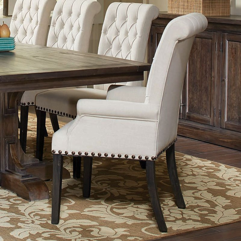 Weber Cream Arm Chair By Coaster Furniture 1 Review S Furniturepick