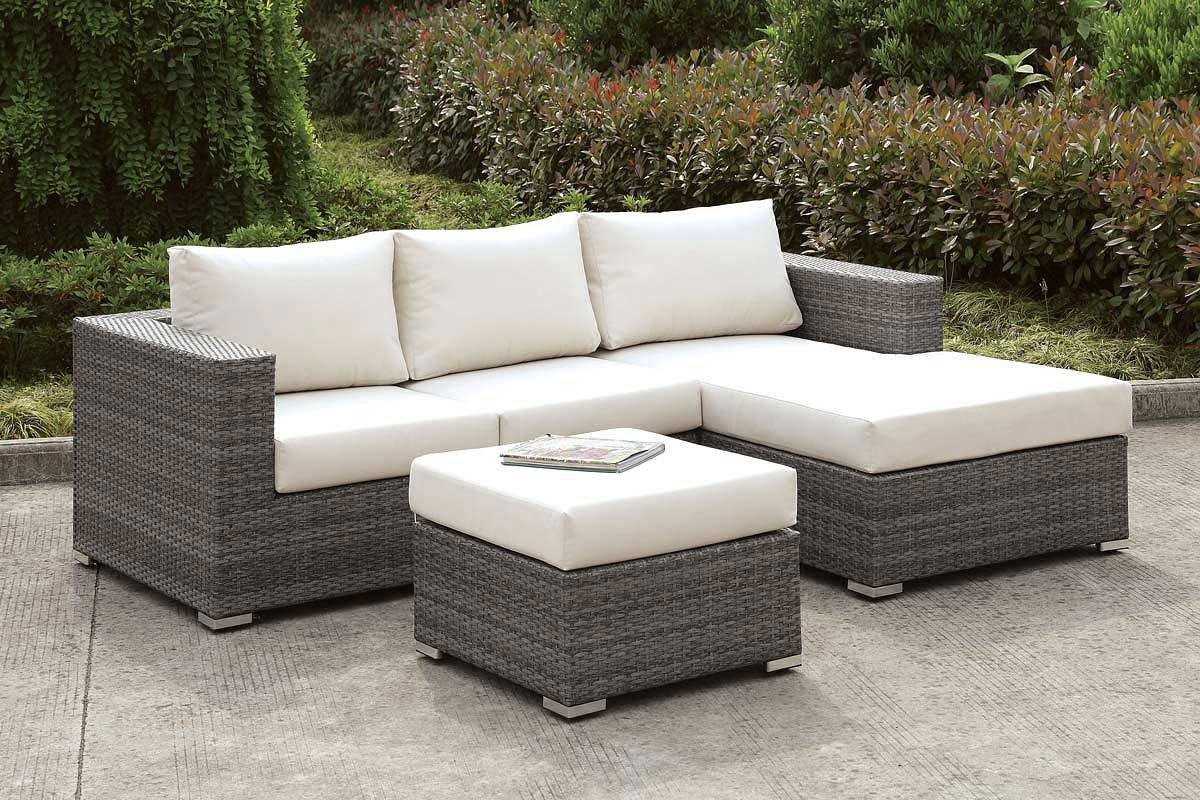 somani outdoor small l shaped sectional set configuration 15
