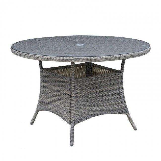 canistota 47 inch round patio table