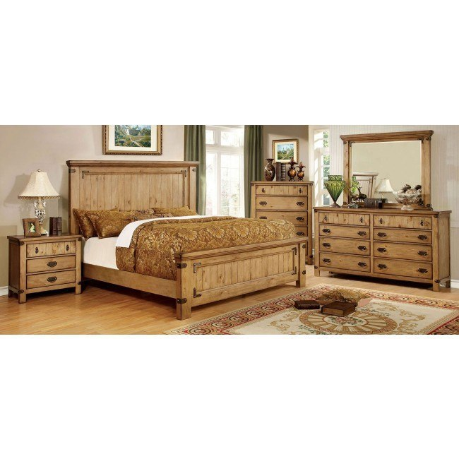 pioneer panel bedroom set