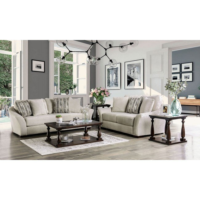 oacoma living room set off white