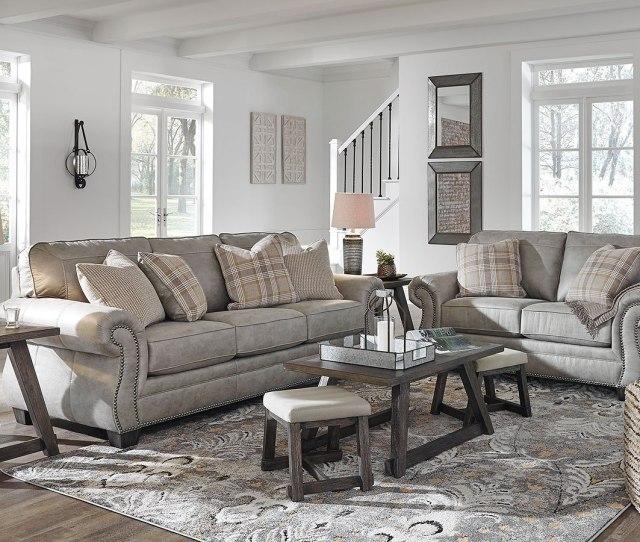 Olsberg Steel Living Room Set By Signature Design By Ashley Furniturepick
