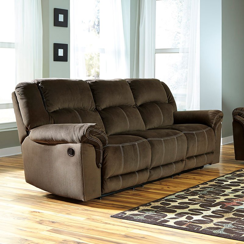 By lindsey mather living rooms and sofas are a pair you don't see broken up. Quinnlyn Coffee Reclining Sofa - Reclining Sofas - Living ...
