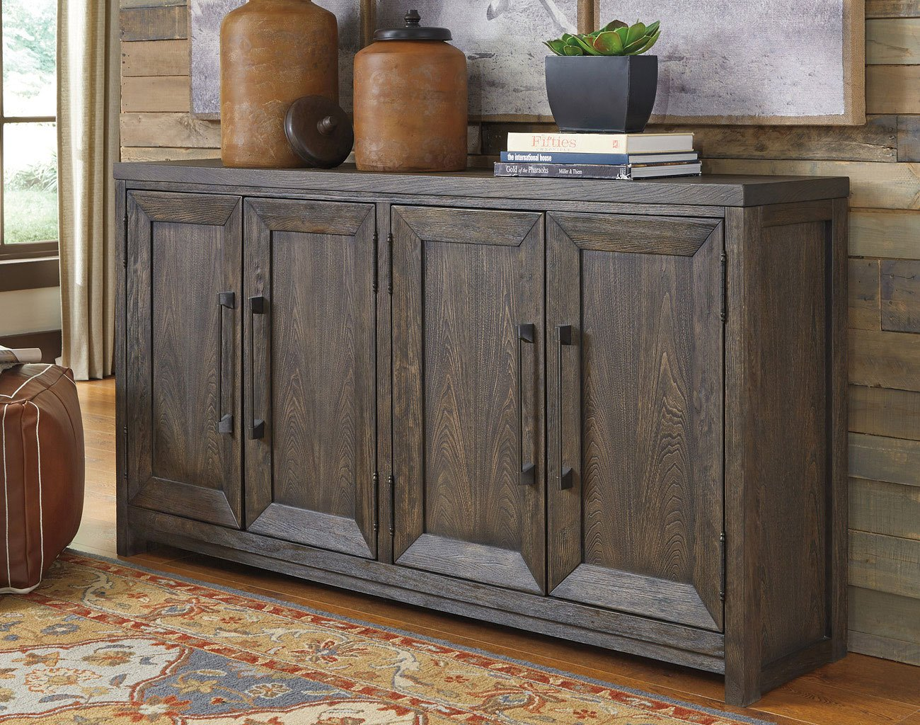 Reickwine Wide Accent Cabinet Accent Chests And Cabinets