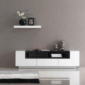 tv 002 white gloss tv stand