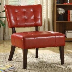Warner Accent Chair Dark Brown Homelegance FurniturePick