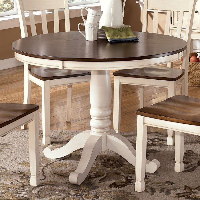 Whitesburg Round Dining Table By Signature Design By