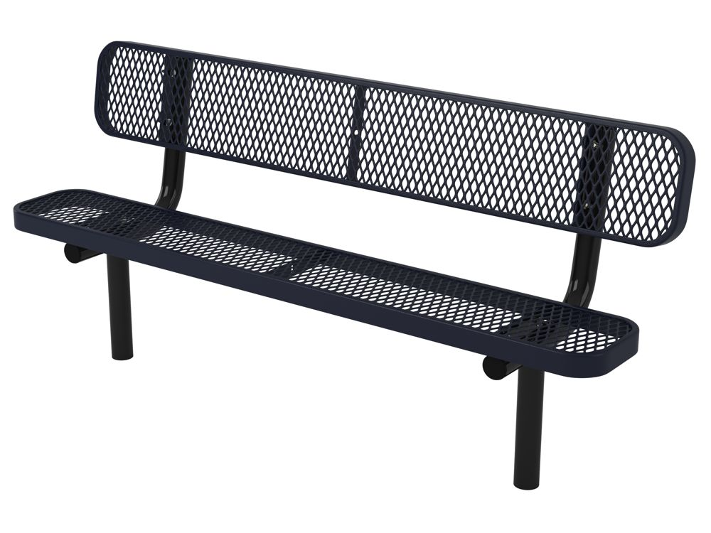 UltraLeisure Style Park Bench With Back By Webcoat