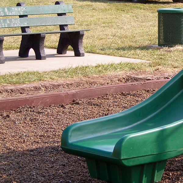 Rubber Curb Playground Border