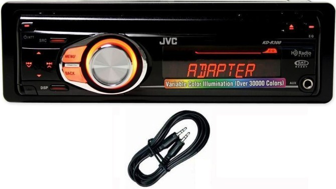 jvc kd r300 wiring harness adapter
