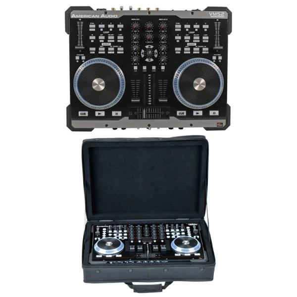 American Audio VMS2 USB MIDI DJ Controller w/Touch Scratch ...