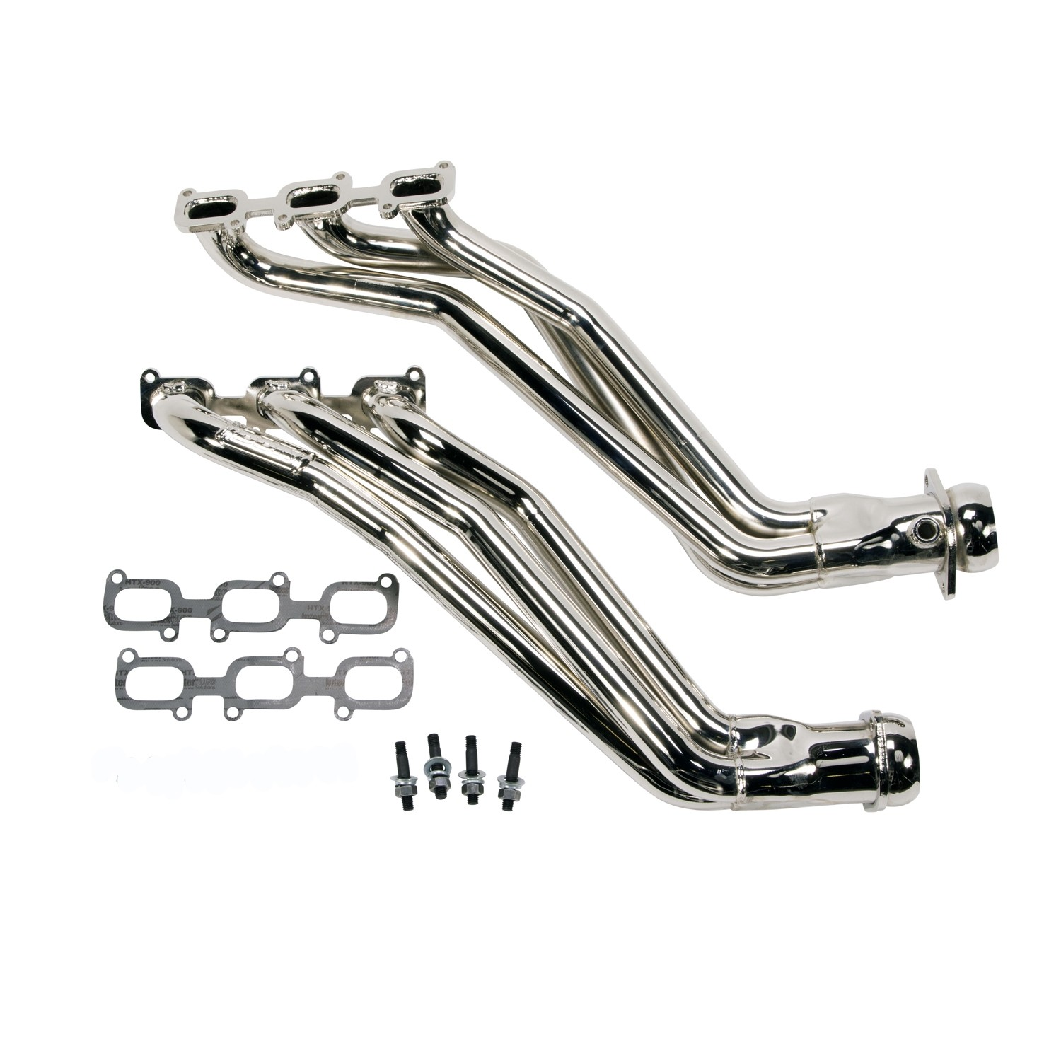 Bbk 1 3 4 Full Length Chrome Headers 11 17 Mustang V6