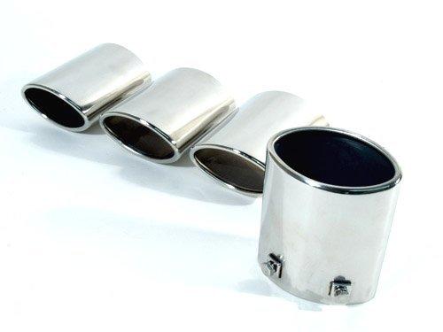 c5 corvette stainless steel exhaust tips