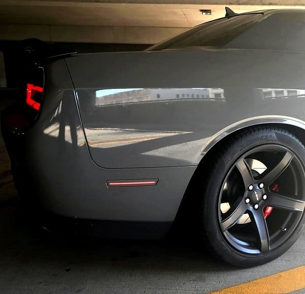 2015 2017 Dodge Challenger Clear And Tint Side Marker