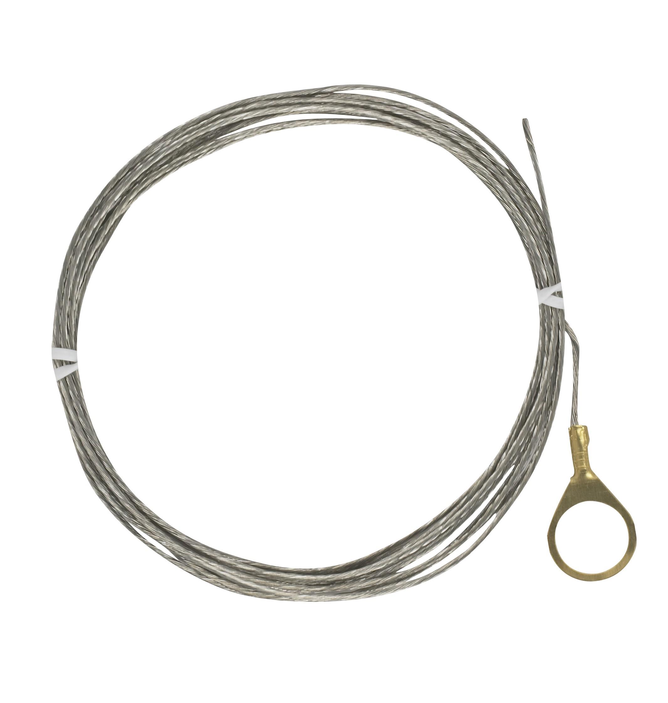 Satco 93 325 1 4 Ip Round Ground Lug With 10ft 18 1 Tinned