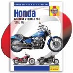 2007 2009 Honda Vt750c2 Shadow Spirit Haynes Repair Manual 2312 Sixity Com