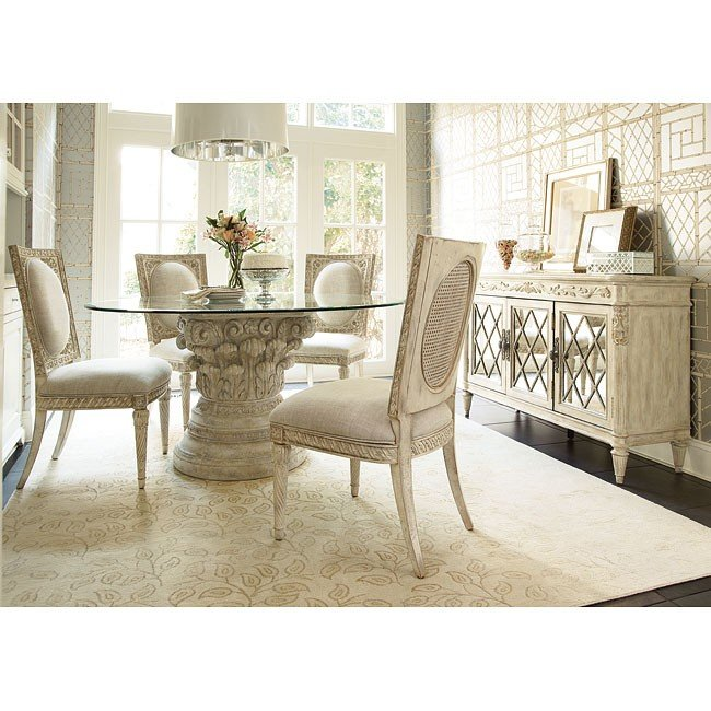 Jessica McClintock The Boutique Round Dining Room Set