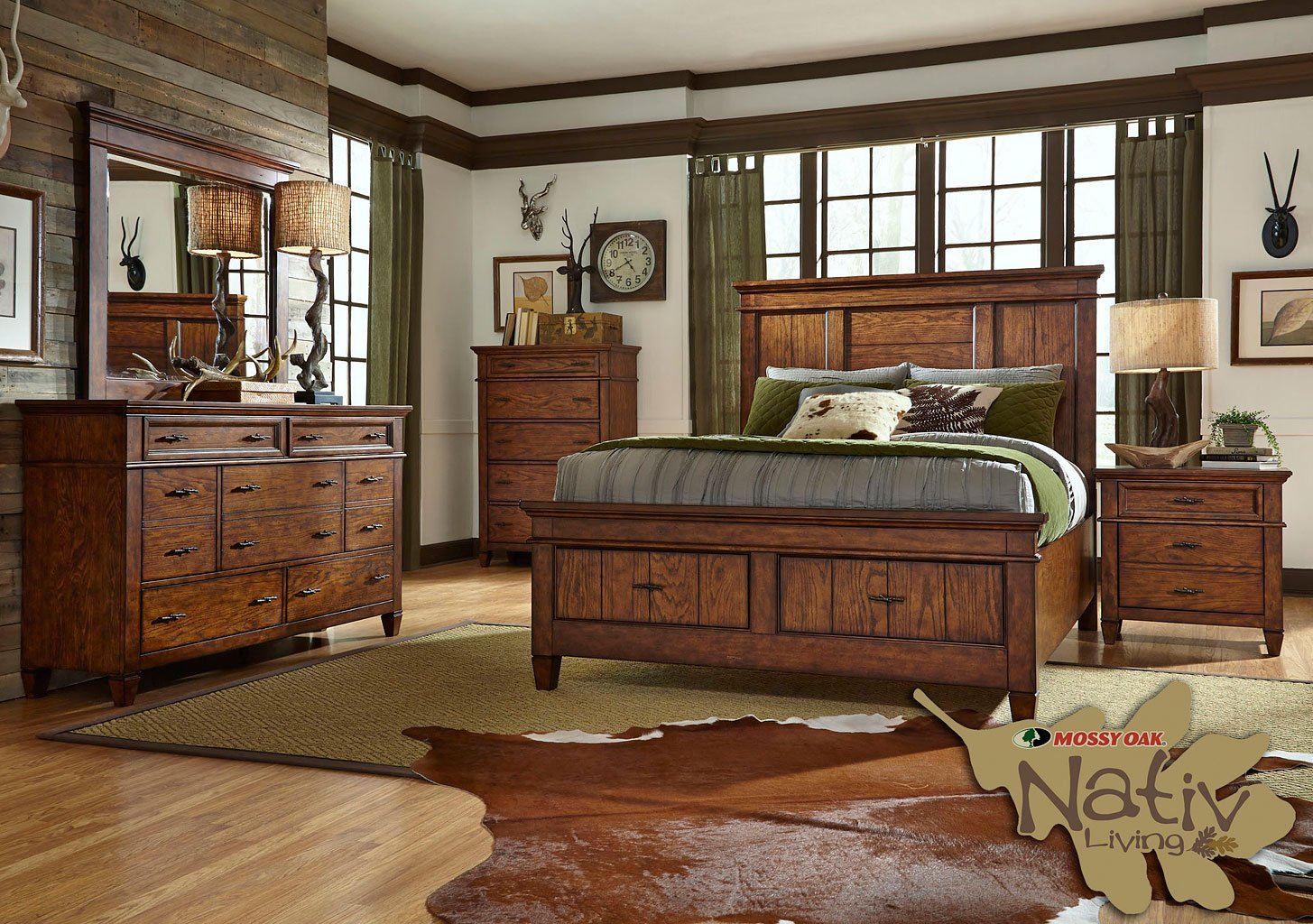 Rocky Mountain Storage Bedroom Set Liberty Furniture