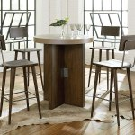 Modern Origins Pub Table Set Hammary Furniture Cart
