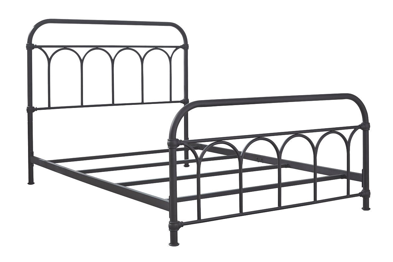 Nashburg Youth Metal Bed Black Signature Design