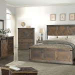 Farmhouse Panel Bedroom Set Barnwood Legends Furniture Furniture Cart