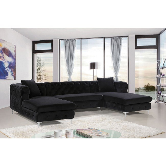 gail sectional black