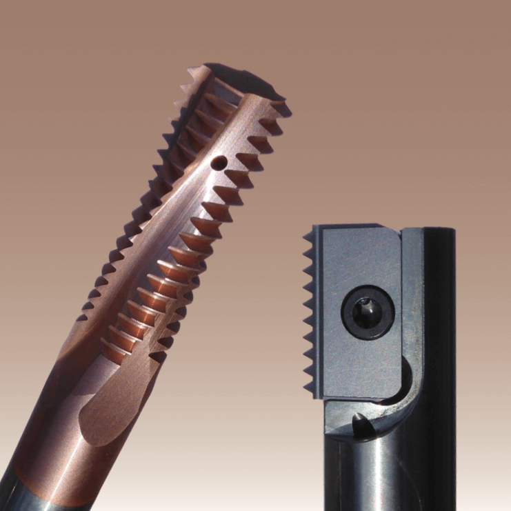 Solid Carbide Thread Mill and Thread Milling Insert from SmiCut.