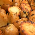 Dill And Green Onion Roasted Potatoes