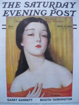 W. T. Benda, okładka magazynu The Saturday Evening Post, zb. prywatne.
