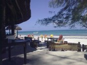 bar sulla spiaggia - Diani, Kenya