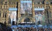 Mcr celebra il Manchester City