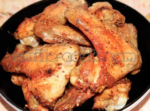Куриные крылья-гриль - рецепт приготовления куриных ...