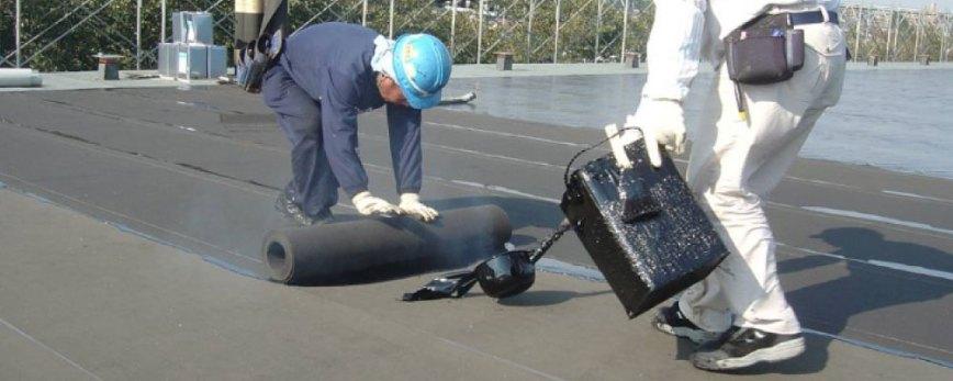 アスファルト防水の熱工法