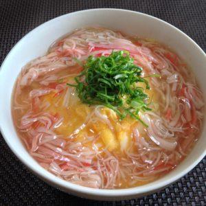 カニカマ天津飯2