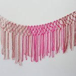 Macrame Yarn Garland Diy A Beautiful Mess