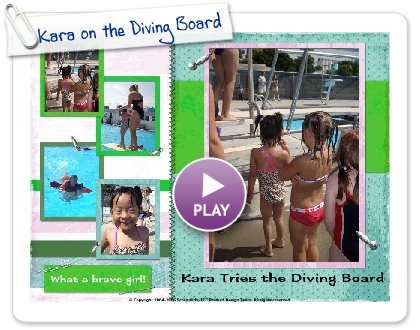 Click to play Kara on the Diving Board