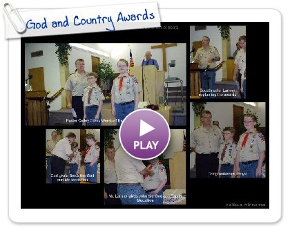 Click to play God and Country Awards