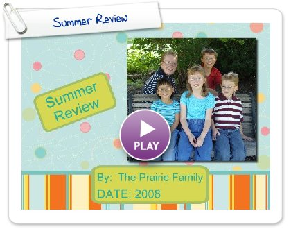 Click to play Summer Review