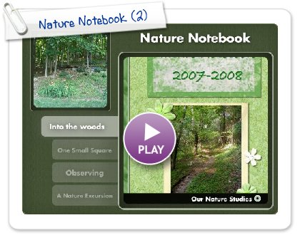 Click to play Nature Notebook
