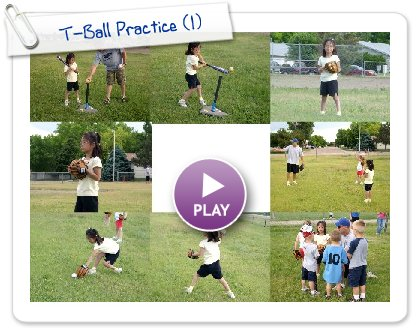 Click to play this Smilebox slideshow: T-Ball Practice