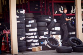 tire man at your service
