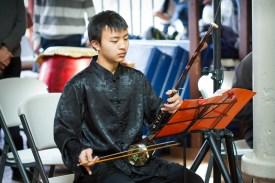 playing Erhu--Chinese Violin