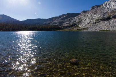 yosemite young lake sparkles