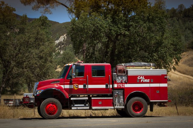 CA firefighters