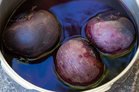slowly ripened beets