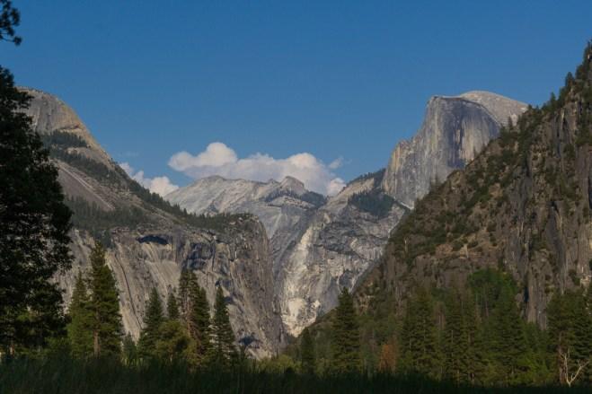 half dome valley view